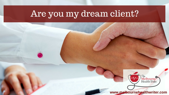 Are you my dream client? Tips for working with a copywriter