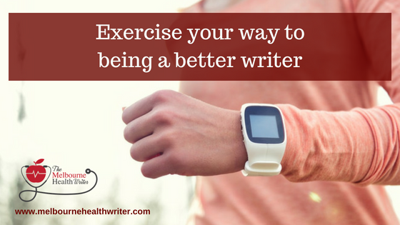 Exercise your way to being a better writer
