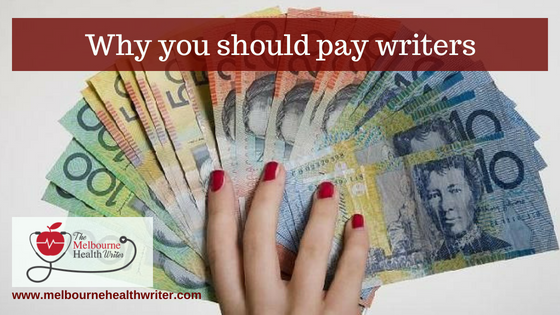 Why you should pay writers