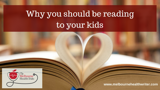 Why you should be reading to your kids