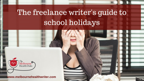 The freelance writer's guide to school holidays