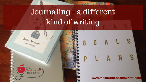 Journaling – a different kind of writing