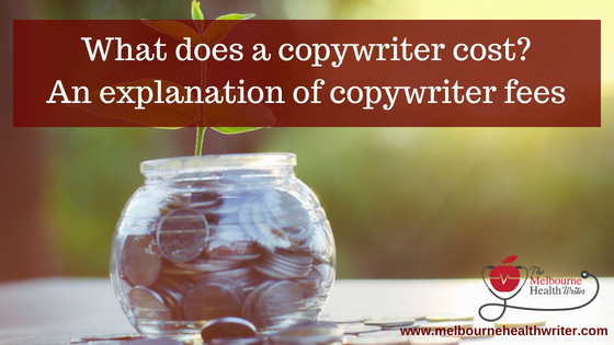 What does a copywriter cost? An explanation of copywriter fees