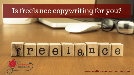 Freelance copywriting is rewarding but it's not for everyone