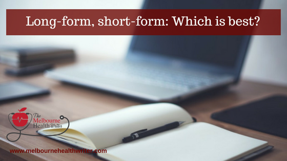 Long-form, short-form: Which is best?