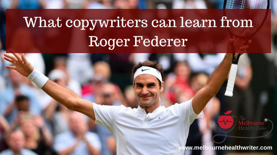 Roger Federer can teach copywriters a thing or two