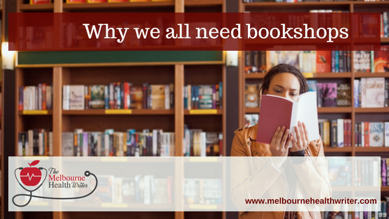 Why we all need bookshops