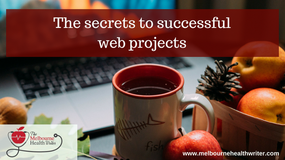 The secrets to successful web projects