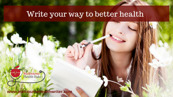 Write your way to better health