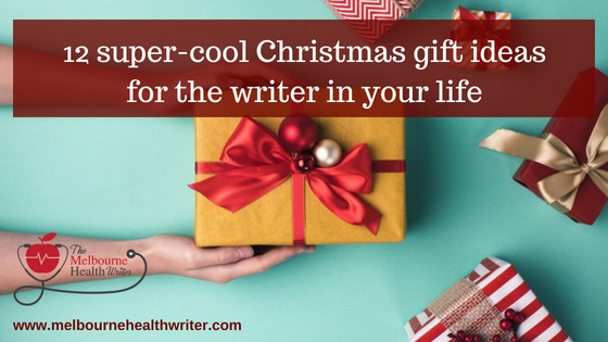 12 super cool Christmas gift ideas for the writer in your life