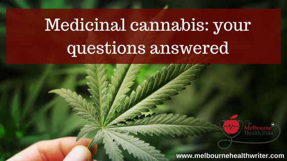 Medicinal cannabis: Your questions answered