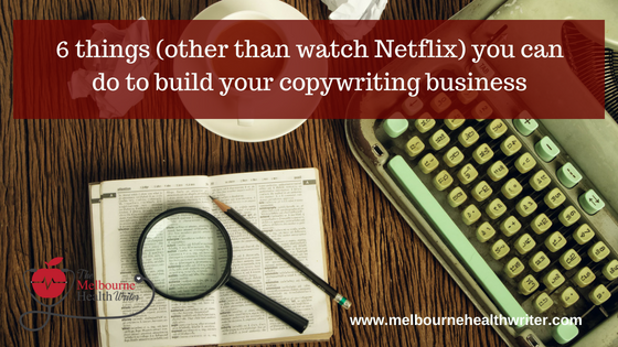 How to build your copywriting business