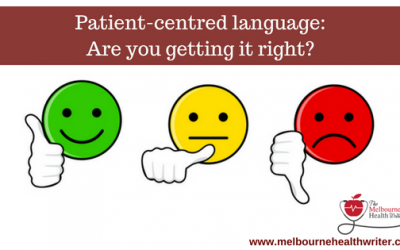 Patient-centred language: Are you getting it right?