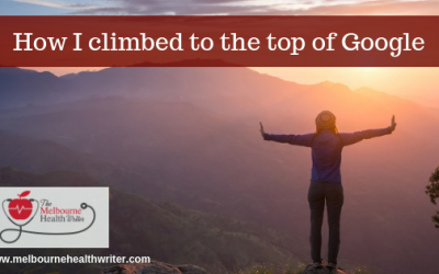 How I climbed to the top of Google: A case study