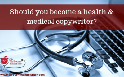 Should you become a health and medical copywriter?