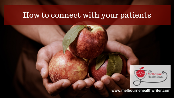 How to connect with your patients