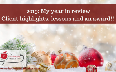 2019: My year in review