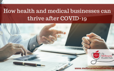 How health and medical businesses can thrive after COVID-19