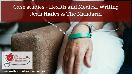 Case studies: Health and medical writing