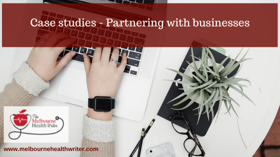 Case studies: Partnering with businesses